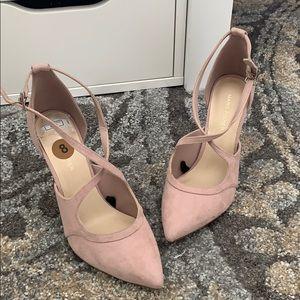 Nude Pink Heels Size 8
